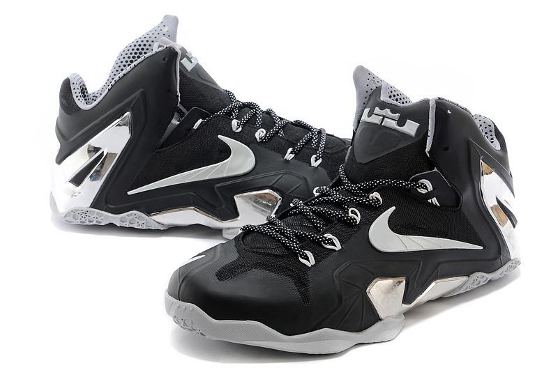 Баскетбольные кроссовки Nike Lebron 11 (XI) Elite Low черные