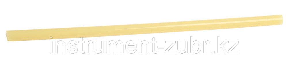 """Стержни ЗУБР """"ЭКСПЕРТ"""" для клеевых (термоклеящих) пистолетов, цвет желтый, 6шт, 12х300мм"""