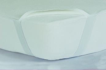 Наматрасник 80х190 водонепроницаемый с резинкой на углах