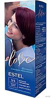 """Крем-краска для волос """"Estel Love"""" (тон: 5/5, красное дерево)"""