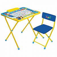 Набор мебели Ника Познайка стол+мягкий стул КПМ/П, фото 1