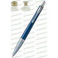 Ручка шариковая URBAN PREMIUM DK BLU BP M BLU GB Parker