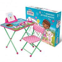 Комплект детской мебели Ника Доктор Плюшева Д1П/ДП Disney 1 , фото 1