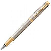 Ручка перьевая IM PREMIUM WRM GRY GT FP F GB Parker