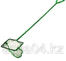 """Сачок 3"""" Long Net Green  (7,5 см.) с длинной ручкой"""