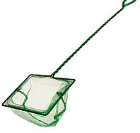"""Сачок 5"""" Long Net Green  (12,5 см.) с длинной ручкой"""