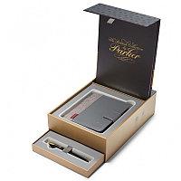 Набор подарочный с ручкой перьевой (S947310) , с органайзером и блокнотом, в Premium Pack, Parker