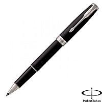 Ручка роллерная PK SON MBLK CT RB F.BLK GB Parker