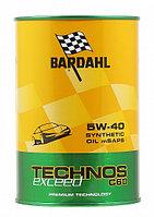 Моторное масло BARDAHL TECHNOS MSAPS 5w40 EXCEED 1литр