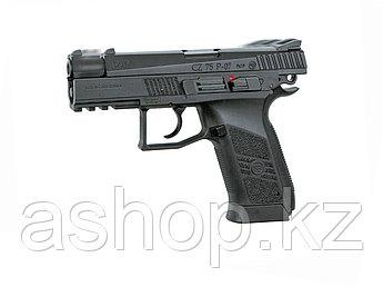 Пистолет пневматический ASG CZ 75 P-07 Duty, Калибр: 4,5 мм (.177, BB), Дульная энергия: 2,1 Дж, Ёмкость магаз