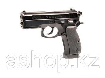 Пистолет пневматический ASG CZ 75D Compact, Калибр: 4,5 мм (.177, BB), Дульная энергия: 2,3-2,7 Дж, Ёмкость ма