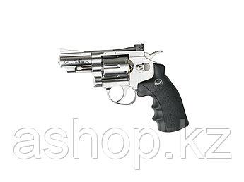 """Револьвер пневматический ASG Dan Wesson 2,5"""", Калибр: 4,5 мм (.177, BB), Дульная энергия: 1,7-2,0 Дж, Ёмкость"""