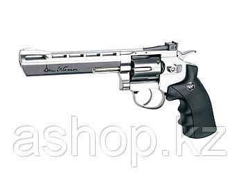 """Револьвер пневматический ASG Dan Wesson 6"""", Калибр: 4,5 мм (.177, BB), Дульная энергия: 3,0 Дж, Ёмкость магази"""