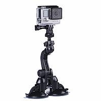 "Smatree® Двойная ""присоска"" для GoPro 5/4/3+/3/SJCAM/Xiaomi"