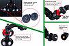 """Smatree® Двойная """"присоска"""" для GoPro 5/4/3+/3/SJCAM/Xiaomi, фото 6"""