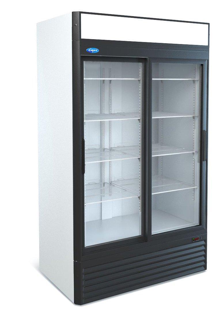 Витринный холодильник шкаф-витрина Капри 1,12СК Купе
