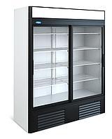 Витринный холодильник шкаф-витрина Капри 1,5СК Купе