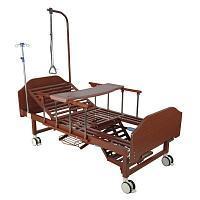 Кровать функциональная механическая с туалетным устройством и функцией кардиокресло YG-6