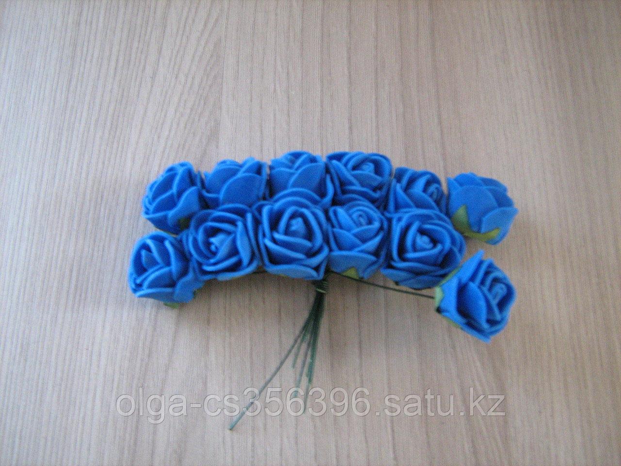 Мини букетик. Синие.  Creativ 2473