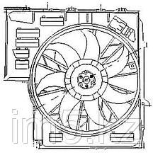 Диффузор радиатора в сборе BMW X5 99-05