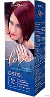 "Крем-краска для волос ""Estel Love"" (тон: 6/5, бордо)"