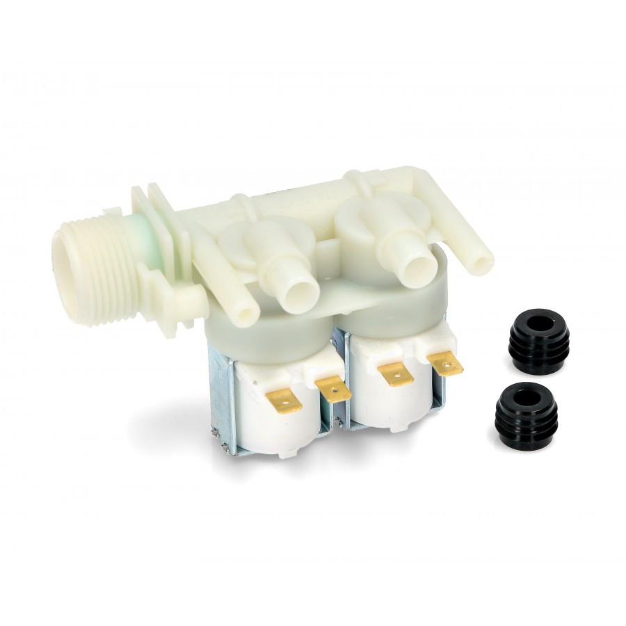 Клапан для стиральной машины 180' Ф=12 мм merloni