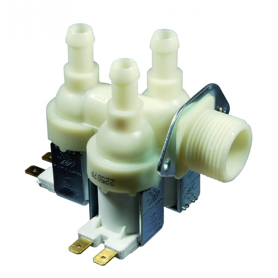 Клапан для стиральной машины  3  90'  Ф=12мм
