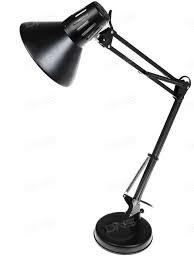 Светильник настольный на струбцине (черный)