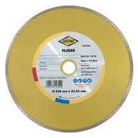 Отрезной алмазный диск MS Professional для влажной резки керамики, (сплошной) 110х7х22.23
