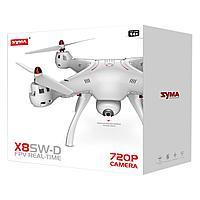 Квадрокоптер Syma X8SW-D 720P с барометром.