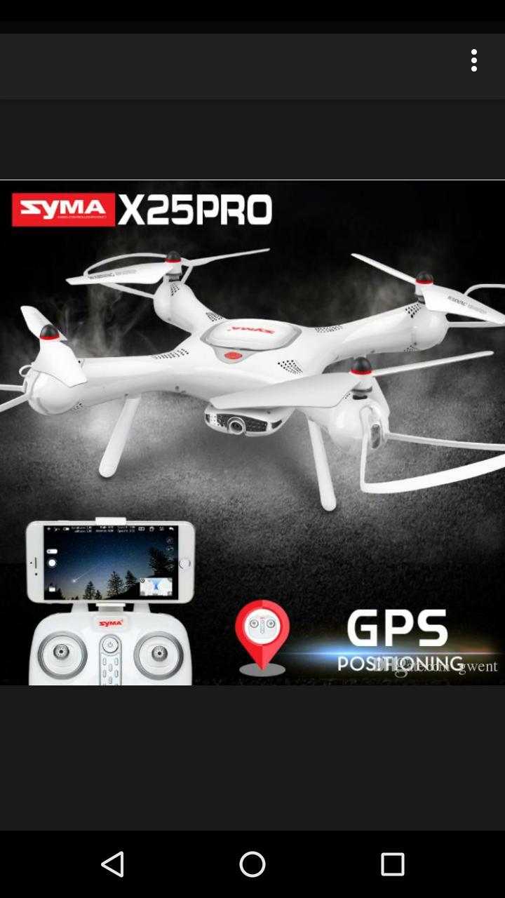 Квадрокоптер Syma X25 Pro c GPS возвратом - фото 3