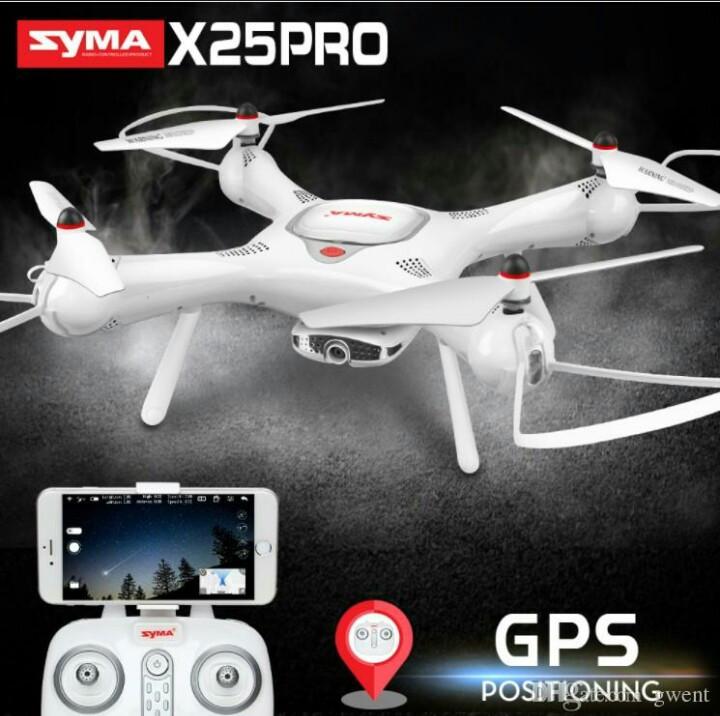Квадрокоптер Syma X25 Pro c GPS возвратом - фото 1