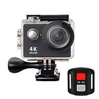Action Camera H16-6R 16MP, 4K Ultra HD 3840 × 2160, Wi-Fi, дисплей, водонепр. чехол, пульт
