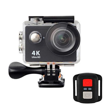Action Camera H16-6R 16MP, 4K Ultra HD 3840 × 2160, Wi-Fi, дисплей, водонепр. чехол, пульт