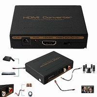 Конвертер HDMI,  HDMI to HDMI + SPDIF (оптика) + RCA L / R Audio