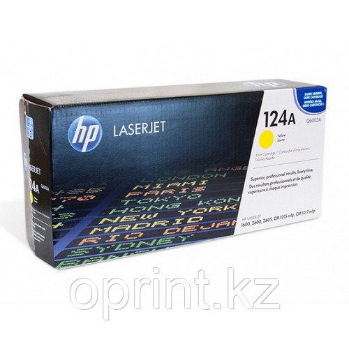 Картридж HP 124А желтый
