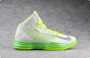 Кроссовки для баскетбола Nike Lunar Hyperdunk белые, фото 2