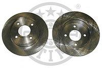 Тормозные диски Nissan Micra K11 (00-03, задние, Optimal)