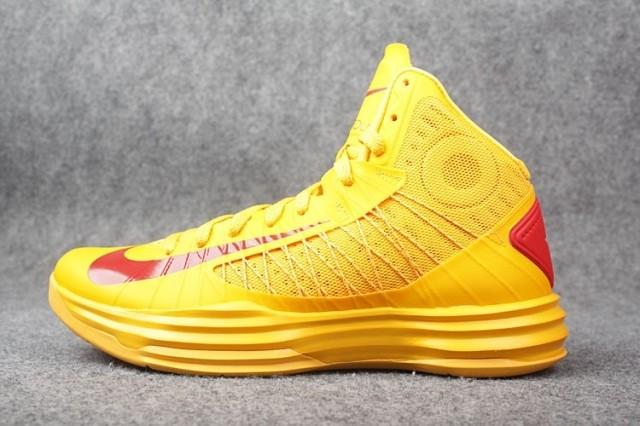 Nike Lunar Hyperdunk X  баскетбольные кроссовки,желтые