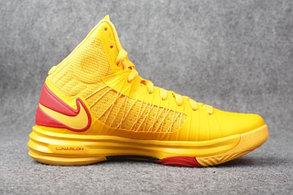 Nike Lunar Hyperdunk X  баскетбольные кроссовки,желтые, фото 2