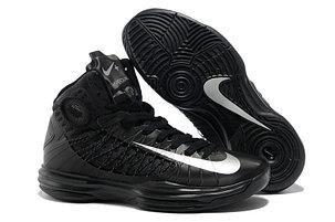 Nike Lunar Hyperdunk X  баскетбольные кроссовки черные, фото 2