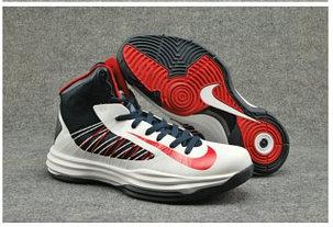 Nike Lunar Hyperdunk X  баскетбольные кроссовки белые, фото 2