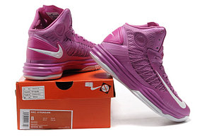 Nike Lunar Hyperdunk X  сиреневые баскетбольные кроссовки, фото 2