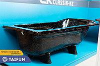 Ванна из искусственного мрамора 180*80см CKclassicKZ VENESIA черный, фото 1