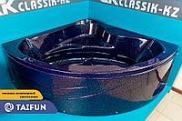 Ванна из искусственного мрамора 150*150см CKclassicKZ MILANO Фиолетовый