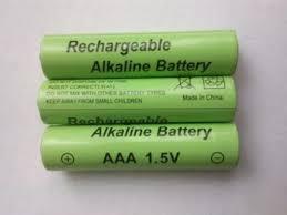 Аккумулятop 1,5v AAA-перезаряжаемая алкалиновая батарейка