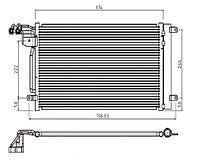 Радиатор кондиционера AUDI A1/S1 10-