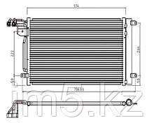 Радиатор кондиционера SEAT TOLEDO 05-