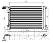 Радиатор кондиционера SEAT IBIZA 08-