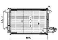 Радиатор кондиционера AUDI TT 06-14